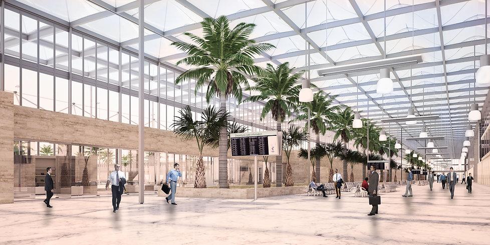 Kuwait Airport Concept - Gebler Tooth