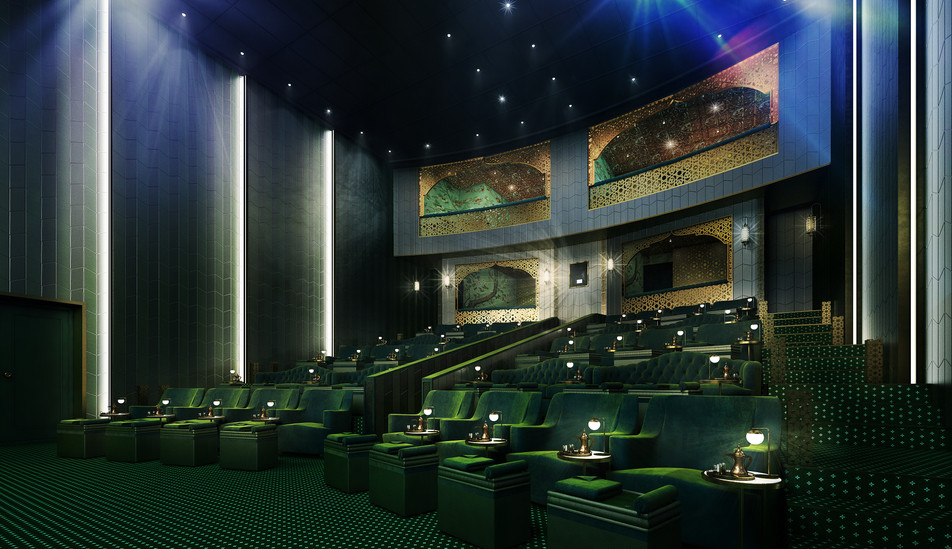The Electric Cinema - Doha - Gebler Tooth