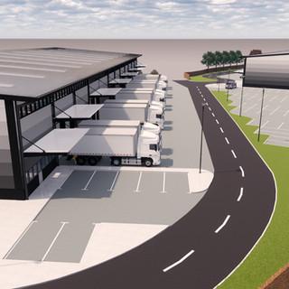 Logistics Park Development - 48 Hours - Generative Design