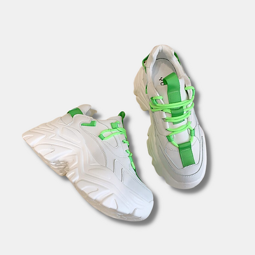 Chunky Sneakers White Highlight