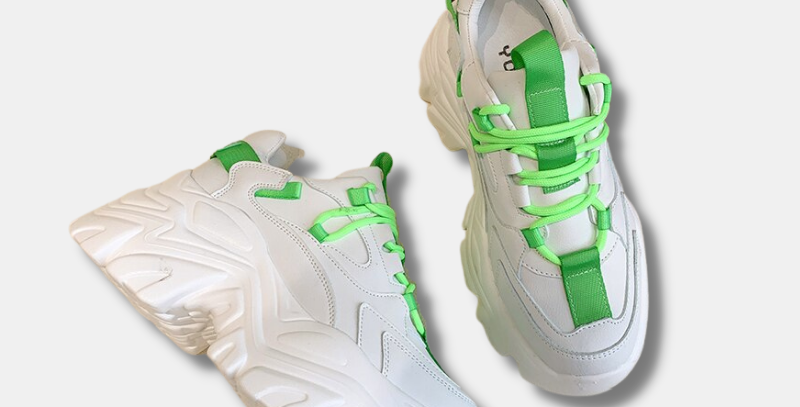 """Chunky Highlight Sneakers - """"Layla"""""""