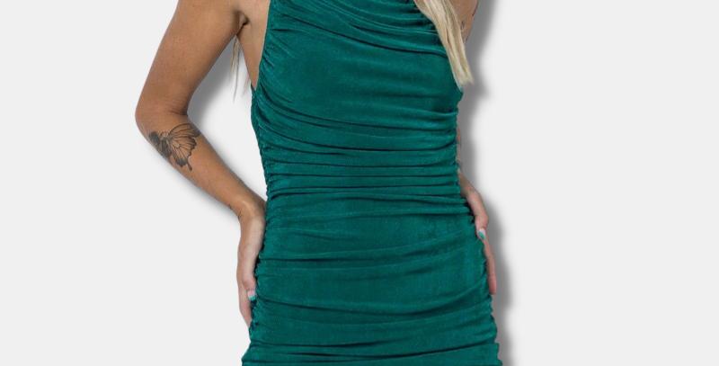 "Ruffled Mini Dress - ""Stacy"""