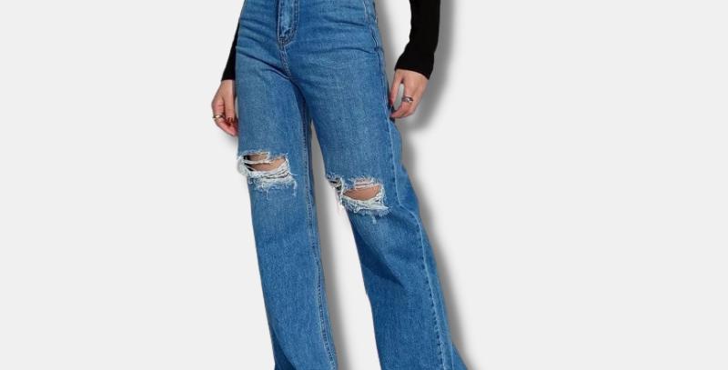 "Denim Mom Jeans - ""Margaret"""