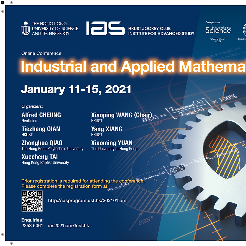(Date has been updated) IAS Conference - Industrial and Applied Mathematics