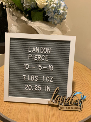 Baby Announcement Ornament
