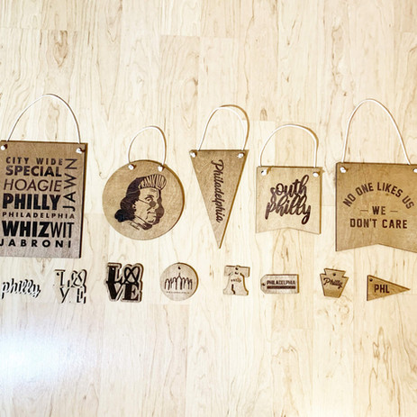 Philly merch for a local seller