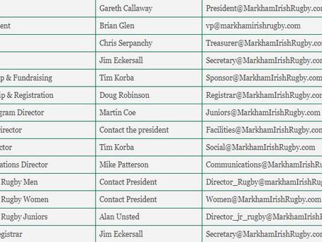 Your 2018 Board of Directors