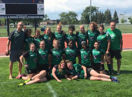 Sr. Women Take Intermediate Cup Gold