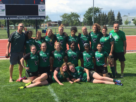 Sr. Women Take Intermediate Cup Gold