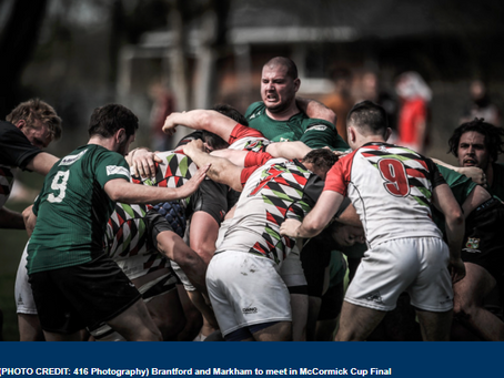 McCORMICK CUP DAY PROMISES TO BE GREAT RUGBY EVENT THIS WEEKEND