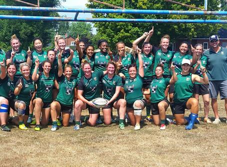 Markham Irish women win the McKenna Cup & promotion to the OWL