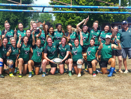 Markham Irish women win the McKenna Cup & promotion to the OWL