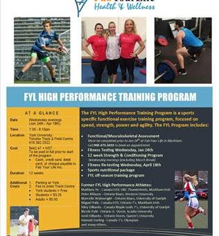 Learn More about the Fab Your Life (FYL) High Performance Training Program