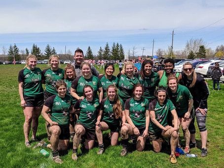 Sr. Women Kick Off 2019 with a Convincing Win