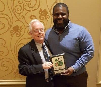 President's Award 2017 Fabian Rayne