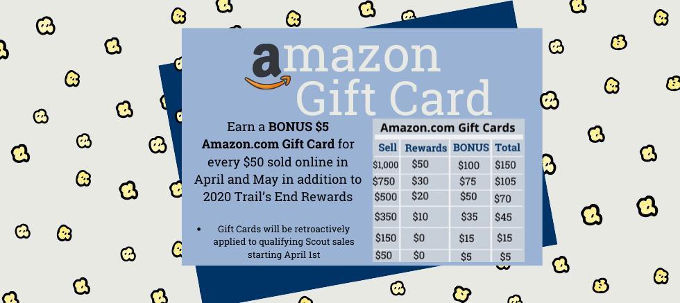 Earn Rewards: Amazon Gift Card