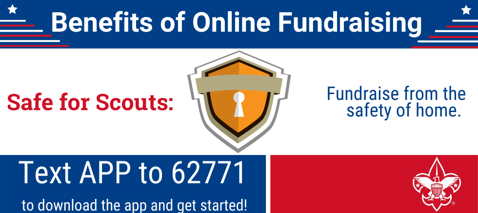Benefits of Online Fundraising: Safe for Scouts