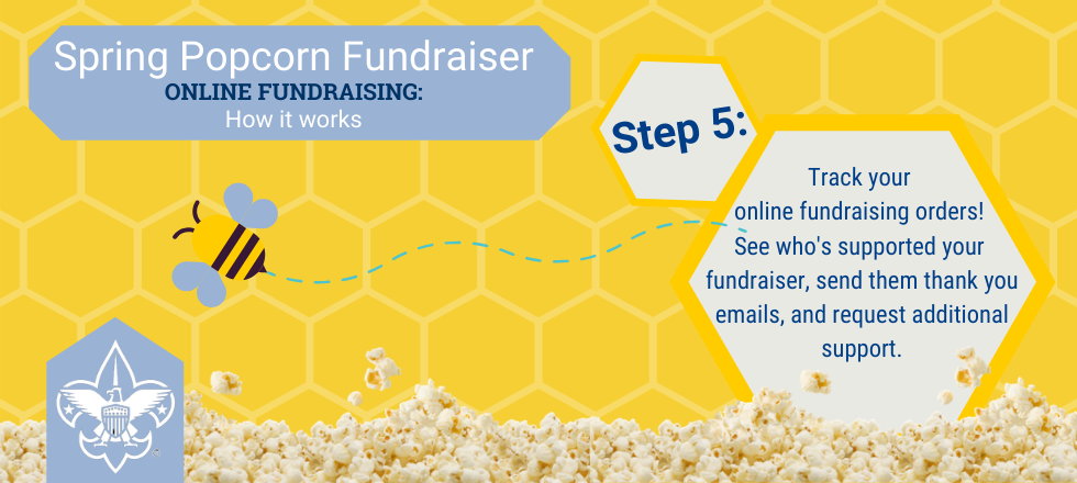 Step 5: Track Your Online Fundraising Orders.