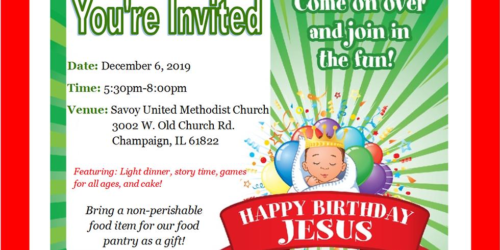 Happy Birthday, Jesus