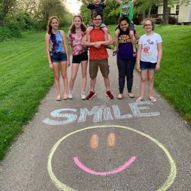 Sidewalk Chalk ministry