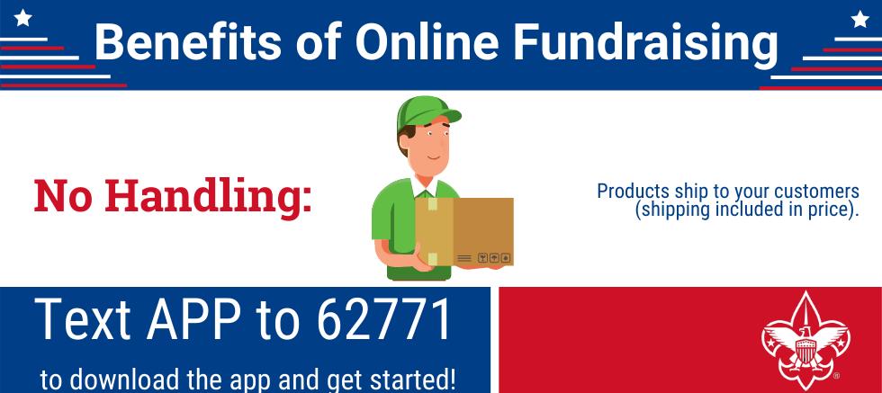 Benefits of Online Fundraising: No Handling