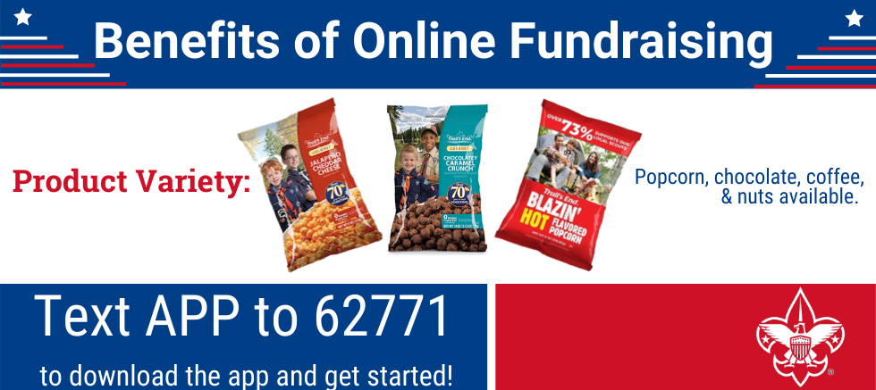 Benefits of Online Fundraising: Product Variety