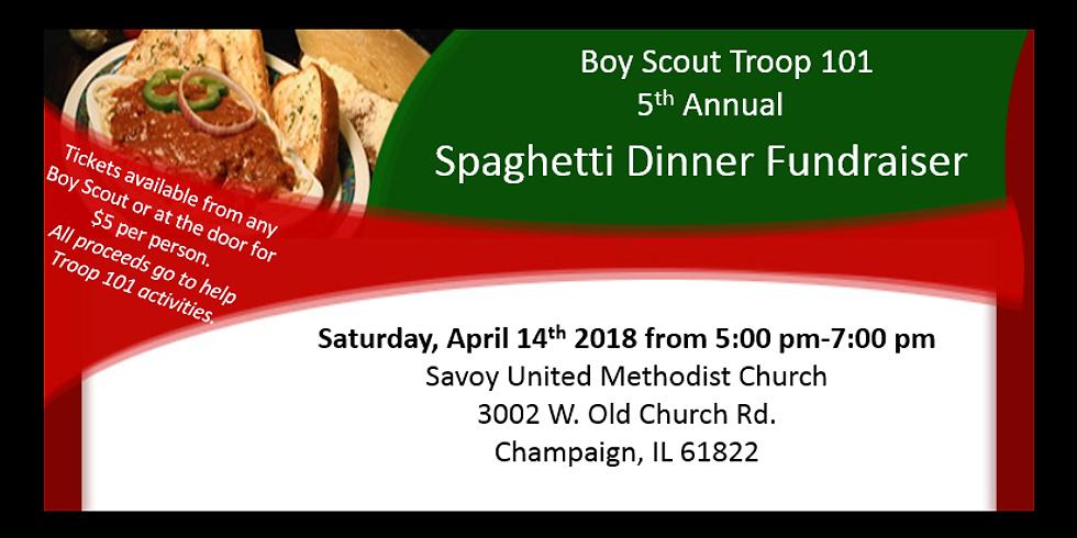 Boy Scout Troop 101 Spaghetti Fundraiser
