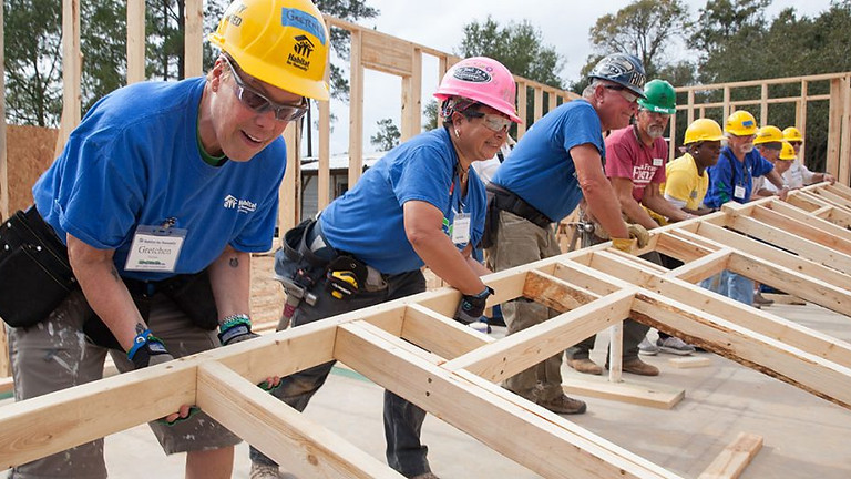 Habitat Building Site Volunteer Sign Up