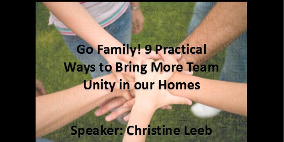 Brunch w/ Speaker Christine Leeb