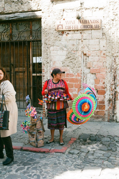 Ollie - Umbrella Lady, Guatemala