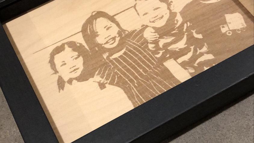 Photo-art frame