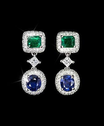 modern color gemstone,colorful gemstones,colorful jewelry,colorful fine jewelry ,Gemstones,เพชรสี,พลอยสี,เพชรพลอย,tarada jewelry.earring,ต่างหูเพชร,