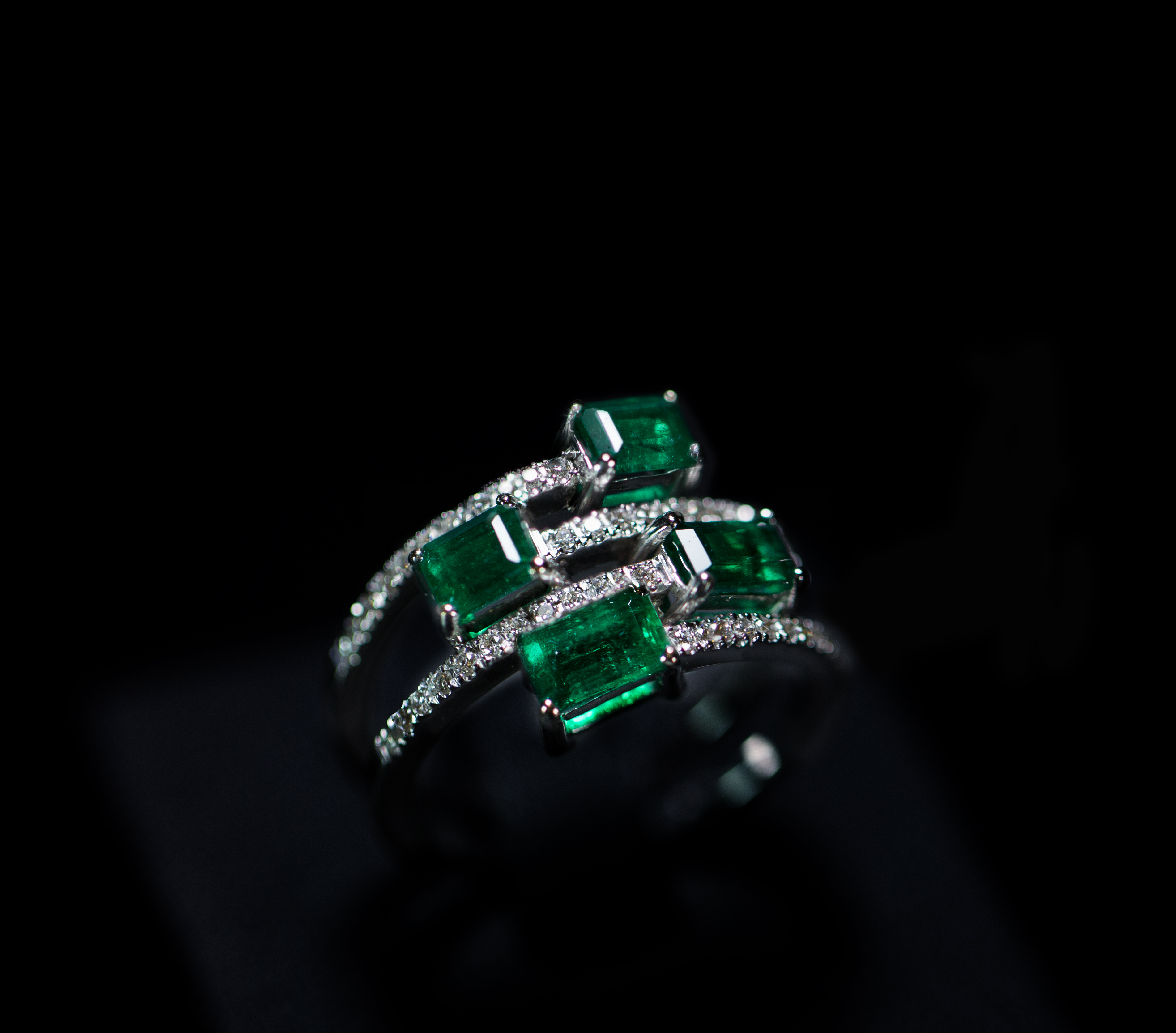 Maison Marici Colombian Emerald Ring
