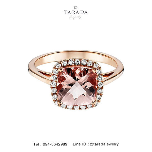 Gemstones,Gemstones and pearls,taradajewelry,wedding,ของขวัญแต่งงาน,แต่งงาน,ทองชมพู,เพชรคุณภาพ,แหวนเพชร,แหวนพลอย,แหวนทับทิม
