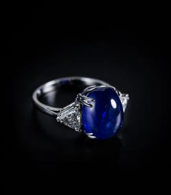 Maison Marici Blue Sapphire ring1