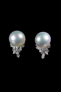 South sea pearl and diamonds