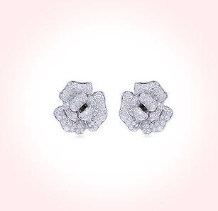 modern ring, jewelry collection,diamond ring,แหวนเพชร,ต่างหูเพชร,ทองคำขาว,Earring,tarada jewelry