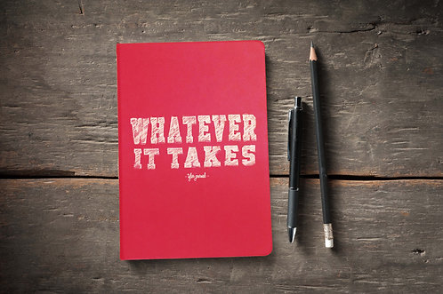 Whatever It Takes Journal, Pink