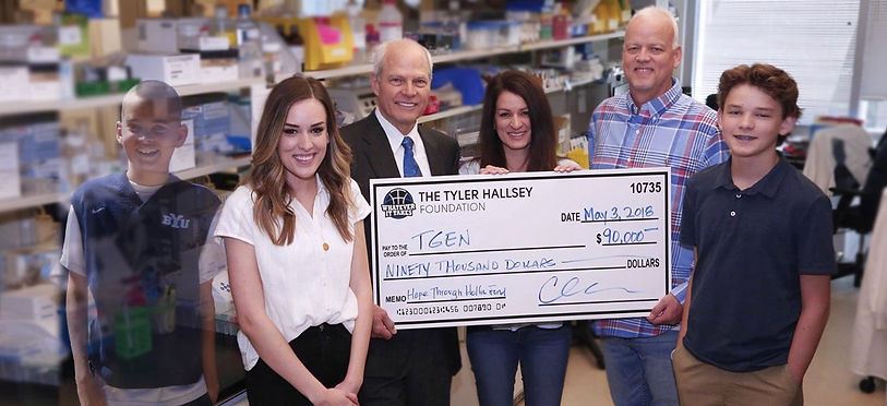 TGen and Tyler Hallsey Foundation