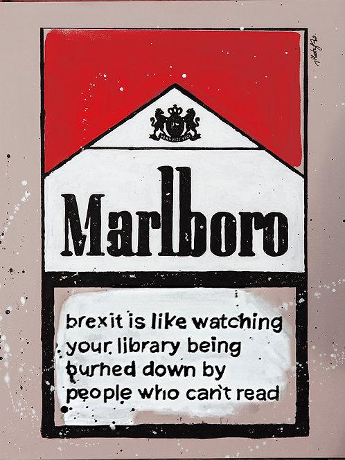 Brexit - Marlboro Cigarette Boxes