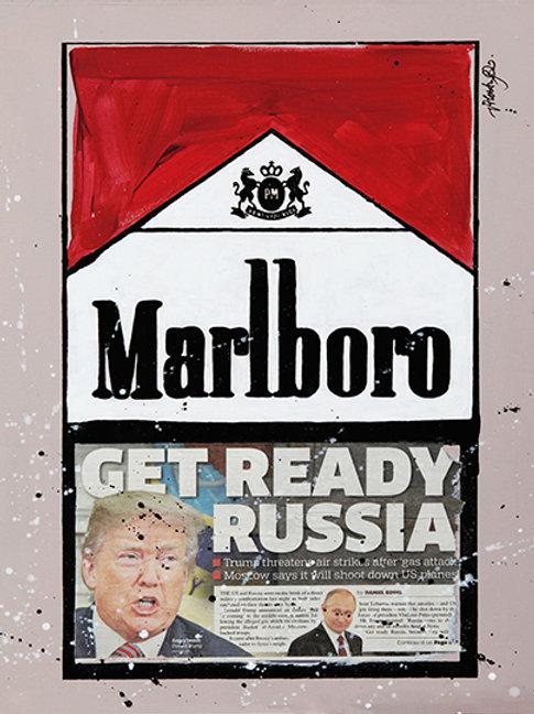 Get Ready Russia - Marlboro Cigarette Boxes
