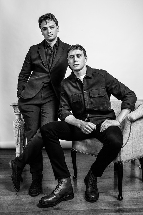Dean-Charles Chapman and George Mackay