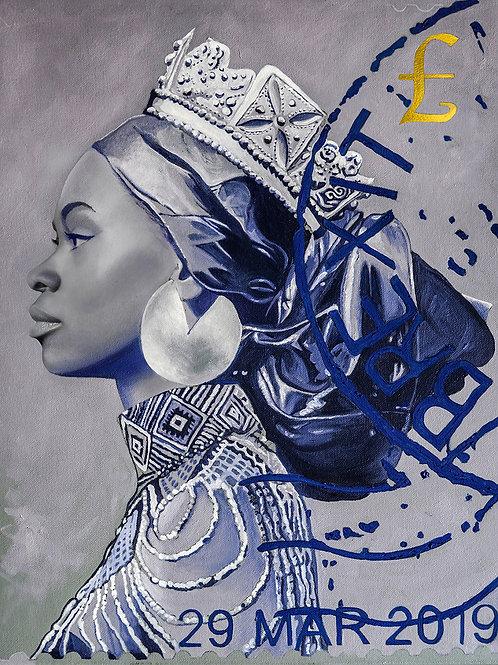 Immigrant Queen (Blue)