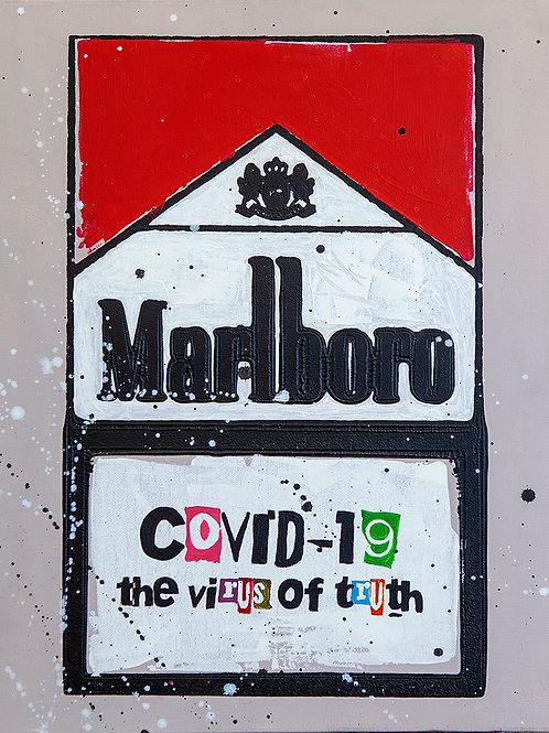 Virus of Truth - Marlboro Cigarette Boxes