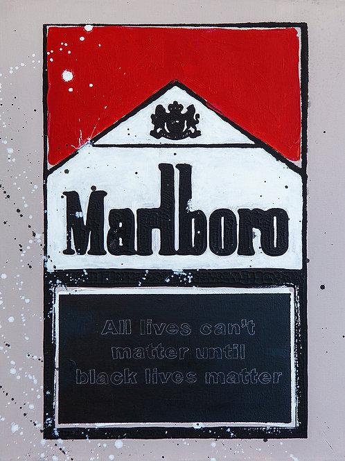 BLM - Marlboro Cigarette Boxes