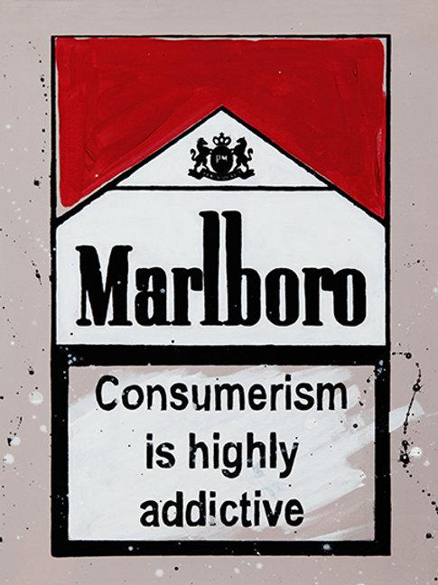 Highly Addictive - Marlboro Cigarette Boxes