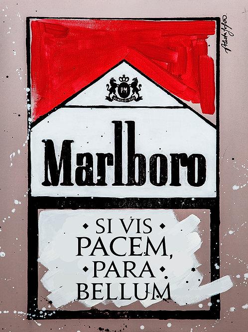 Si Vis Pacem Para Bellum - Marlboro Cigarette Boxes