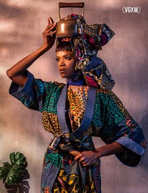 Violeta Sofia copper fashion photographe