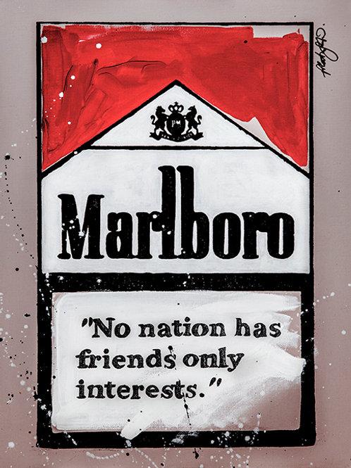No Friends - Marlboro Cigarette Boxes