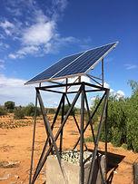 Installation solire ONG Bel Avenir